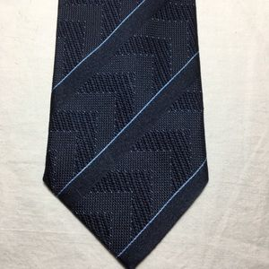 Like New Blue Woven Designer Tie